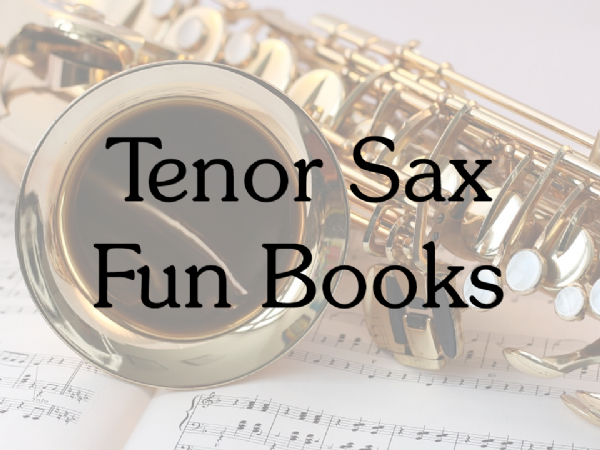 Tenor Sax Fun Books